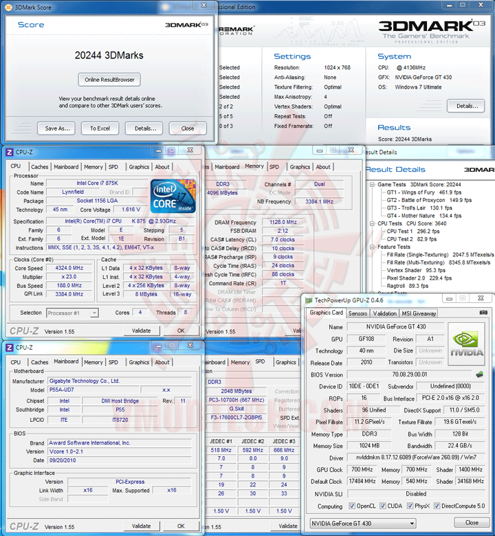 03 df SPARKLE New NVIDIA GeForce GT 430 1GB DDR3 Review