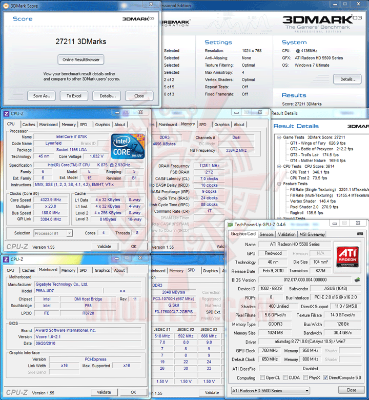 03 oc1 SPARKLE New NVIDIA GeForce GT 430 1GB DDR3 Review