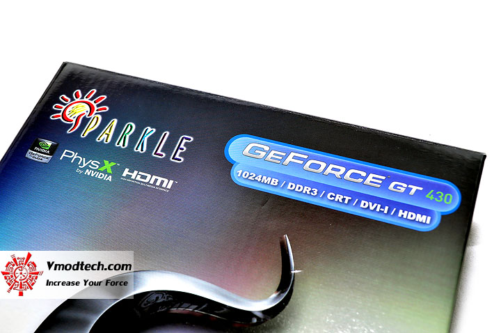 dsc 0005 SPARKLE New NVIDIA GeForce GT 430 1GB DDR3 Review