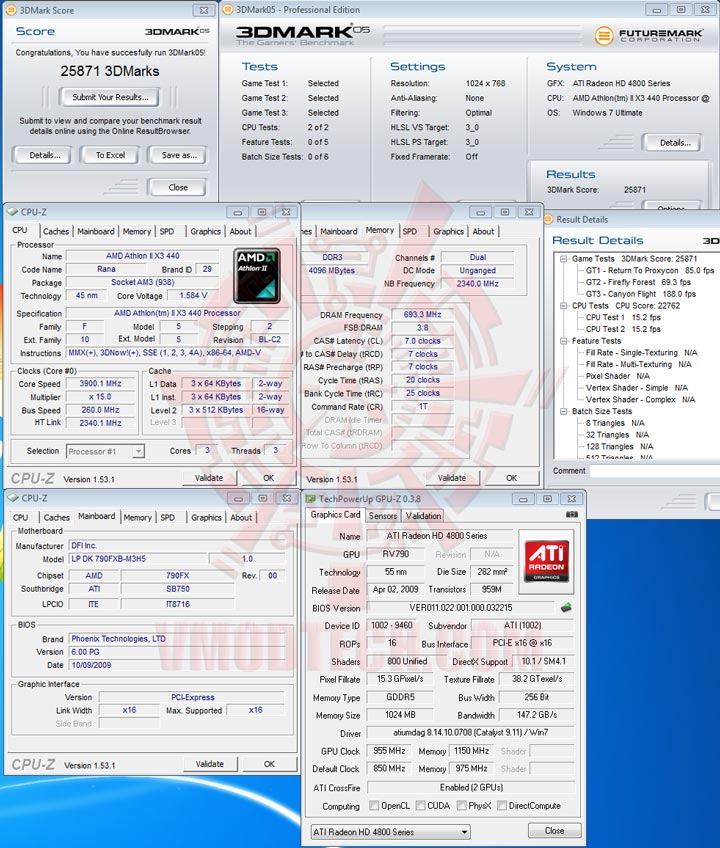 3dmark05 The First Review of AMD Athlon™ II X3 440
