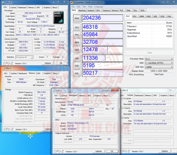 crytalmark2004r3 The First Review of AMD Athlon™ II X3 440
