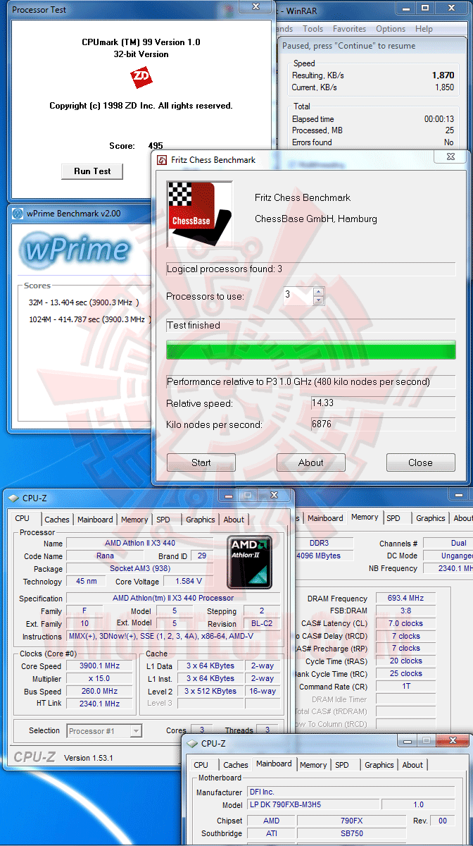 va The First Review of AMD Athlon™ II X3 440
