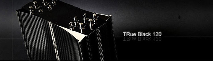 thermalright true black 120 revc Thermalright TRUE Black 120 Rev.C : HEATPIPE ROUNDUP SERIES