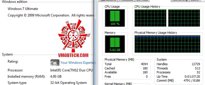 tt 1 วิธีแก้ Windows 7 32bit ให้เห็นmemoryเลย 3GB จนสูงสุดถึง128GB!!