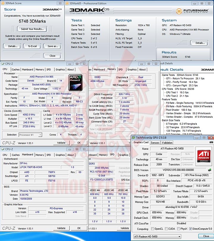 05d XFX Radeon HD 5450 1GB DDR3 Review