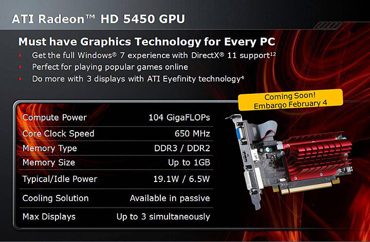 s1 XFX Radeon HD 5450 1GB DDR3 Review