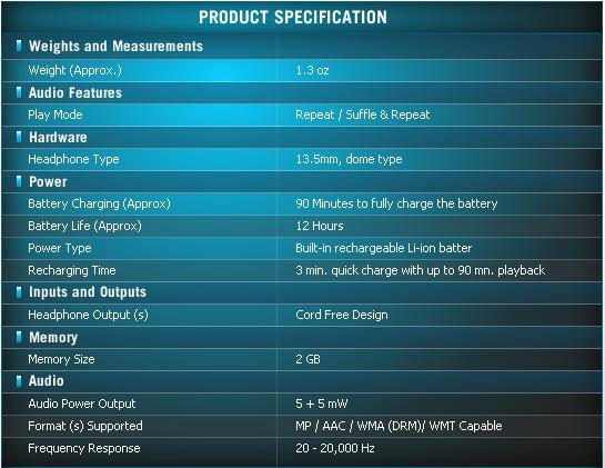 walklman Review : Sony Walkman NWZ W200