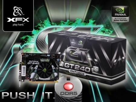 xfx gt 240 512mb ddr5 ARC เปิดตัว XFX GT 240 512MB DDR5