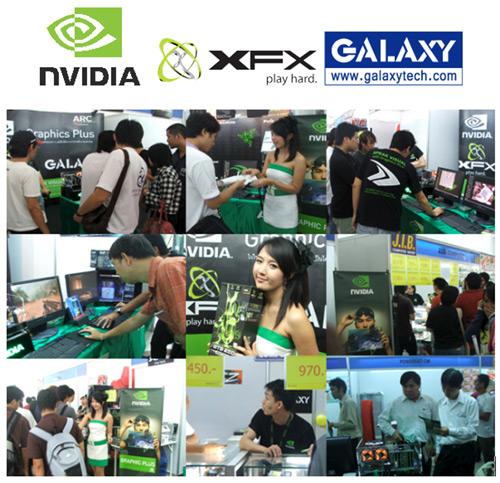 xfx ARC บุกตลาดเชียงใหม่ ตอกย้ำกับความสุดยอดของเทคโนโลยี ทางด้าน PhySx จาก NVIDIA ให้กับชาวเชียงใหม่