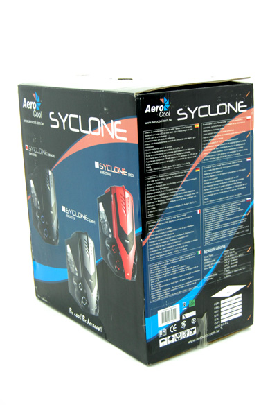 33 Aerocool Syclone Black & Syclone Red