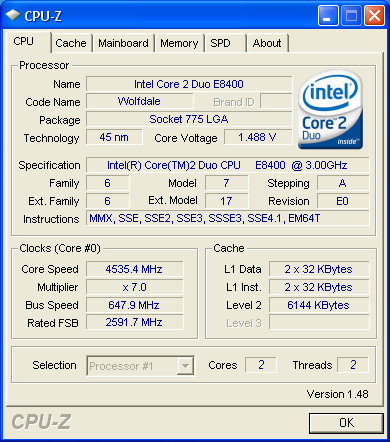 cpu 4535 GIGABYTE EP45 UD3R :  Easily to Play with FSB.