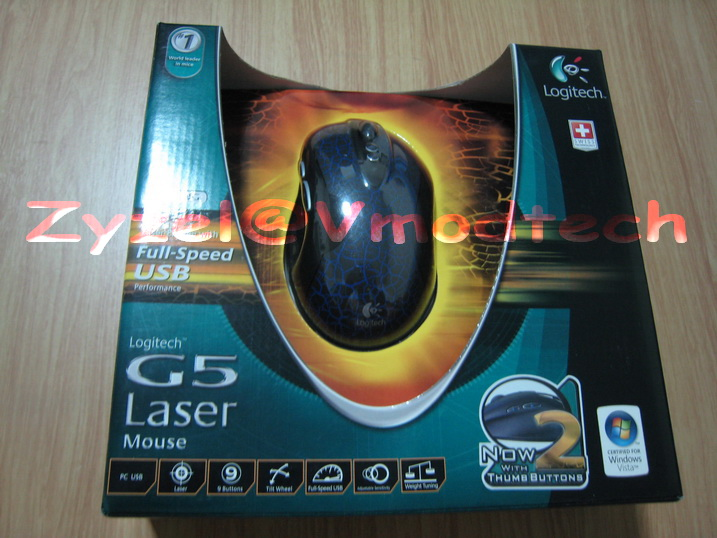 IMG 2349 G5 Laser Mouse Rev.2 : Alien Tribe