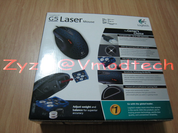 IMG 2354 G5 Laser Mouse Rev.2 : Alien Tribe