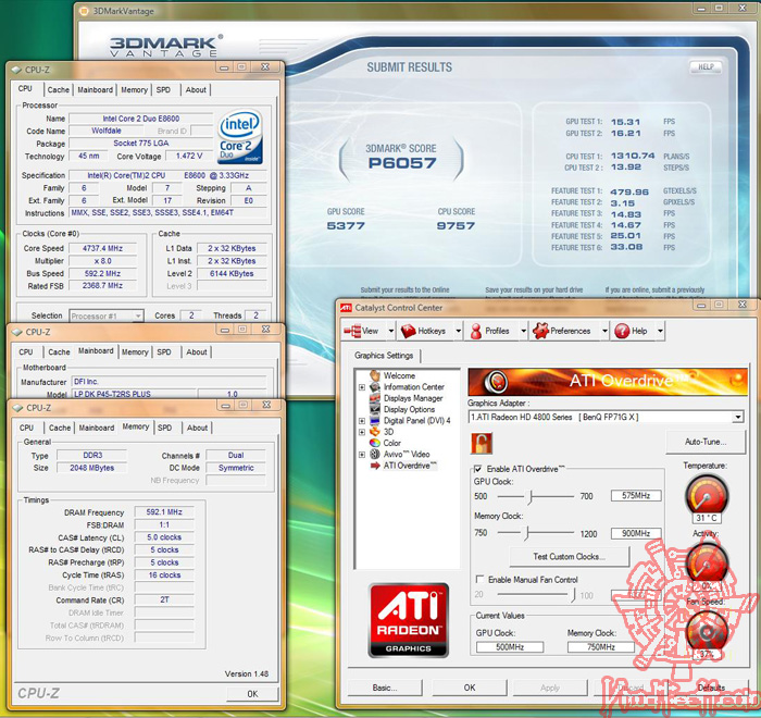 4830 592 3dmarkvantage 04 1 First Touch !!!   PowerColor Radeon HD4830 512MB GDDR3 ที่นี่ ที่แรก...